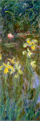 Poster Yellow lilies