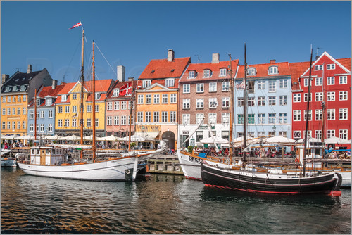 Christian Müringer - Old Port Nyhavn in Copenhagen (Denmark)
