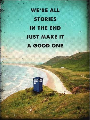2ToastDesign - alternative dr who tardis movie poster
