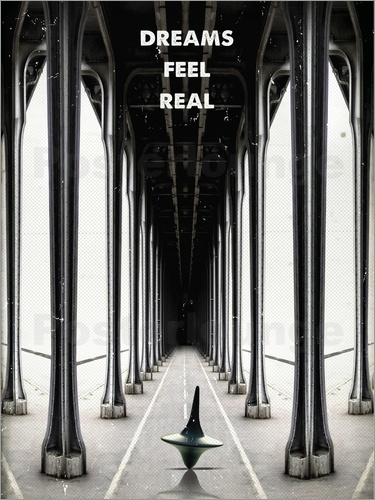 Poster Alternative inception movie art print