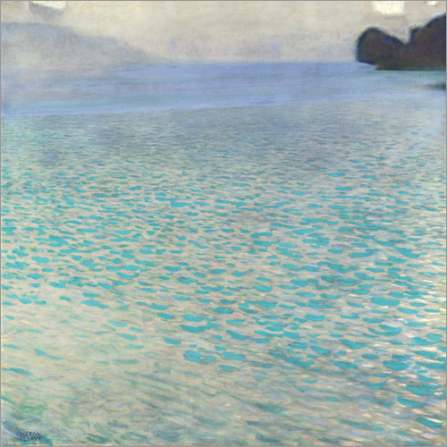 Gustav Klimt - On Attersee lake