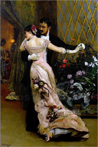 Rogelio de Egusquiza - At the end of the ball