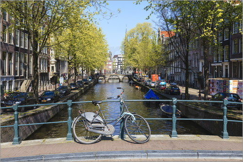 Amanda Hall - Amsterdam waterway