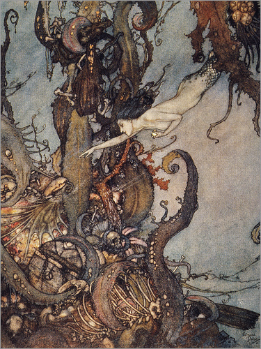 Edmund Dulac - Andersen: Little Mermaid
