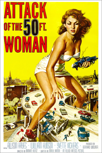Poster Attack of the 50 Foot Woman