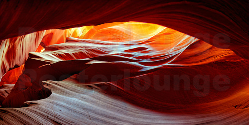 Poster Antelope Canyon USA