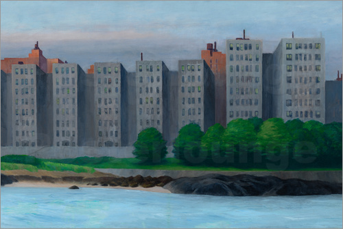 Edward Hopper - Apartment Houses at East River