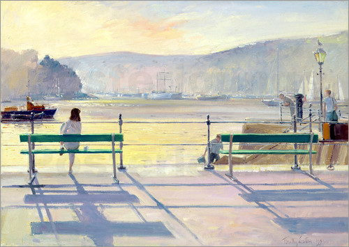 Timothy Easton - View on the harbor