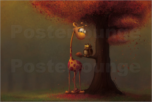 Tooshtoosh - Autumn Giraffe