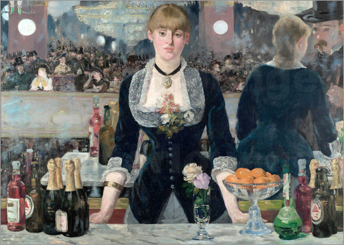 Edouard Manet - Bar at the Folies-Bergere