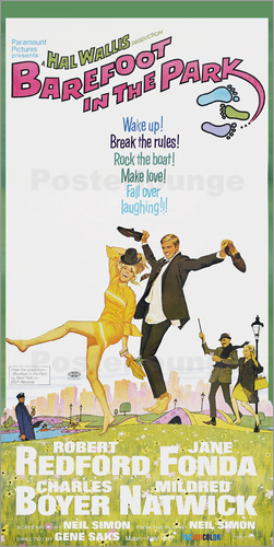 Poster BAREFOOT IN THE PARK