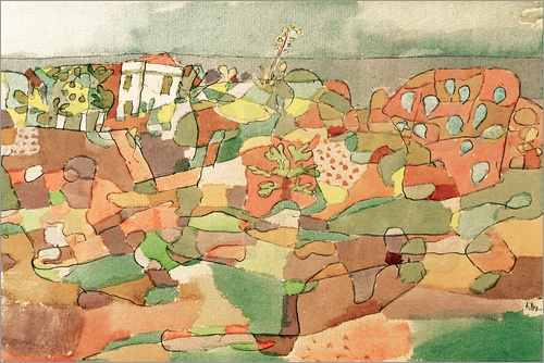 Paul Klee - At Taormina