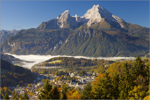 Miles Ertman - Berchtesgaden with Mt. Watzmann