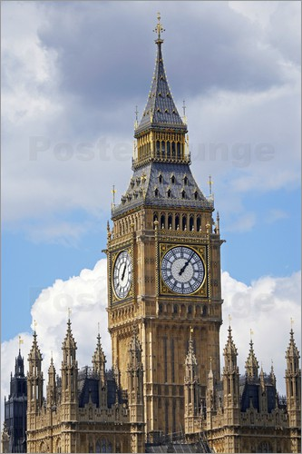 David Wall - The Big Ben and the Palace of Westminster