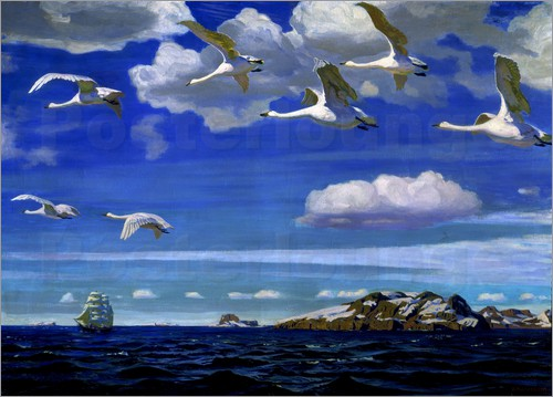 Arkadij Aleksandrovic Rylov - Blue Freedom