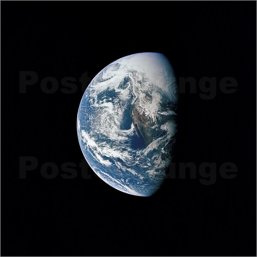 Stocktrek Images - View of the Earth from the spacecraft Apollo 13