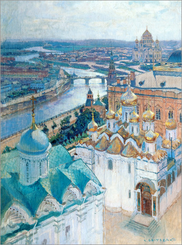 Poster View of Moscow