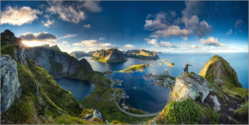 Poster View of Reine, Lofoten