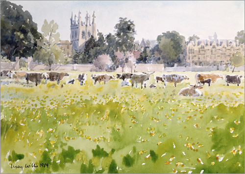 Lucy Willis - Looking Across Christ Church Meadows (Oxford)