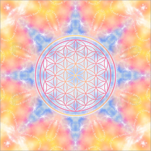 Dolphins DreamDesign - Flower of Life - Love and Gentleness
