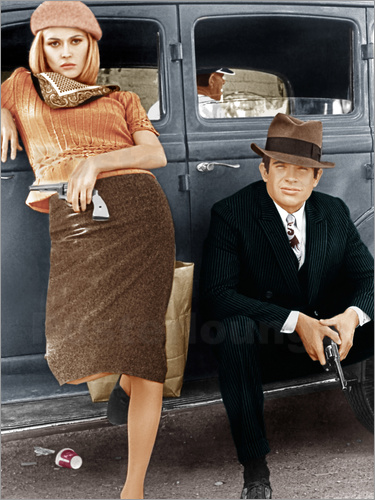 Poster Bonnie and Clyde