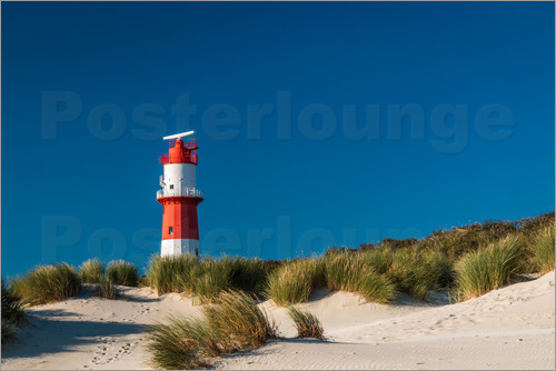 Poster Borkum Lighthouse
