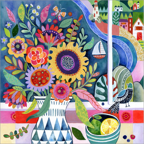 Janet Broxon - bouquet by the bay