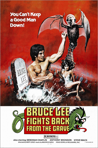 Poster Bruce Lee fights back from the grave