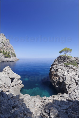 posters affiches de cala de sa calobra posterlounge. Black Bedroom Furniture Sets. Home Design Ideas
