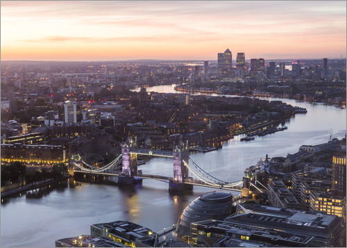 Mike Clegg Photography - Colourful sunsets in London