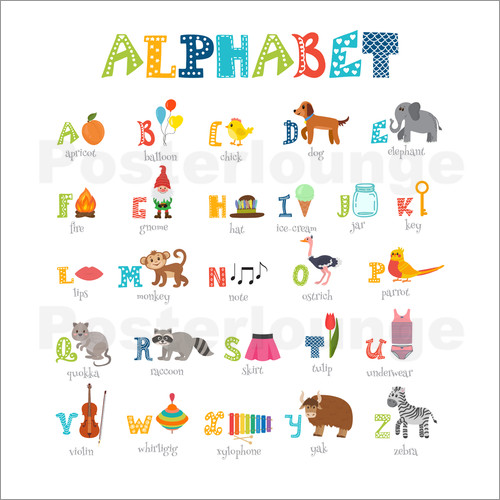 Kidz Collection - Cheerful alphabet (English)