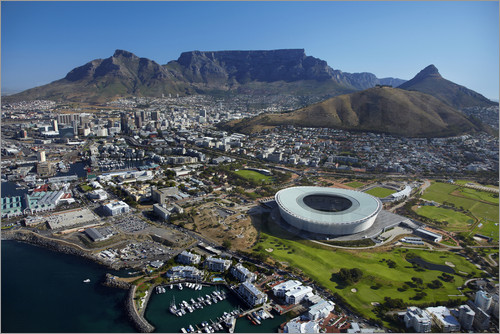 David Wall - Cape Town Stadium and Table Mountain