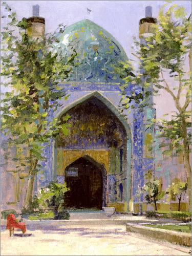 Bob Brown - Chanbagh Madrasses, Isfahan
