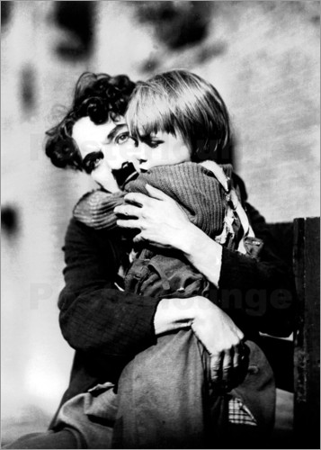 Poster Charlie Chaplin and Jackie Coogan