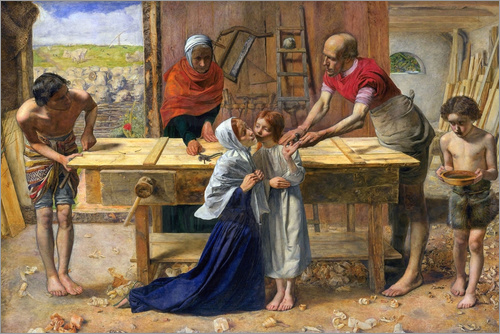 Sir John Everett Millais - Christ in the House of His Parents
