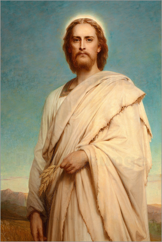 Thomas-Francis Dicksee - Christ in the cornfield