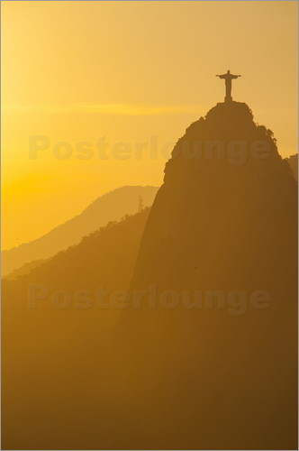 Poster Christ the Redeemer statue, Rio