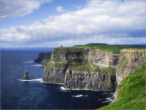 Poster Cliffs of Moher, Ireland