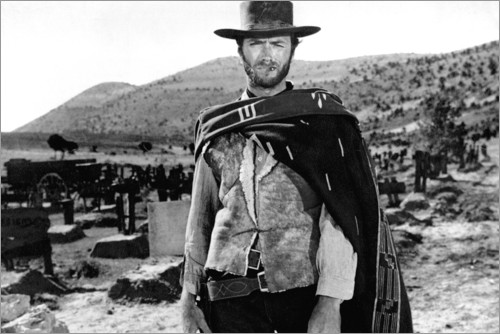 Clint Eastwood in a Western