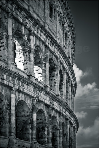 Poster Colosseum Rome, Italy