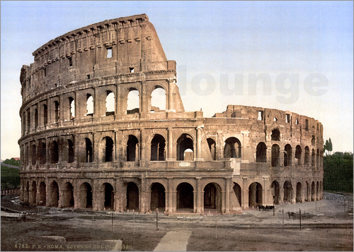 Poster Colosseum vintage