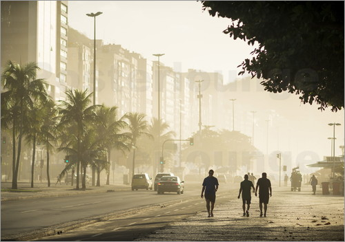 Copacabana at dawn