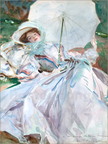 John Singer Sargent - Lady with parasol