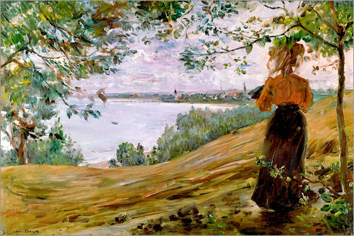 Lovis Corinth - Danzig Bay at Sopot