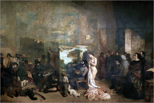 Gustave Courbet - L'Atelier