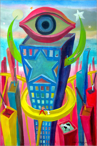 Diego Manuel Rodriguez - The eye of the city