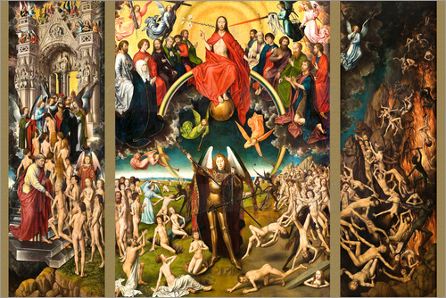 Hans Memling - Judgement Day