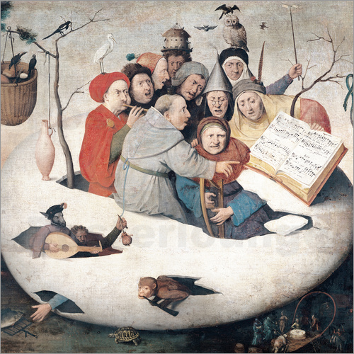 Hieronymus Bosch - The Concert in the Egg