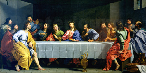 Philippe de Champaigne - The Last Supper, called 'The Little Last Supper'