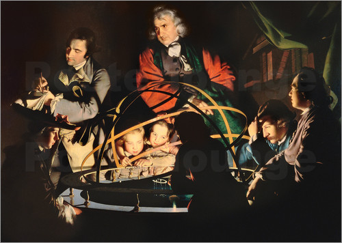 Joseph Wright of Derby - The Orrery